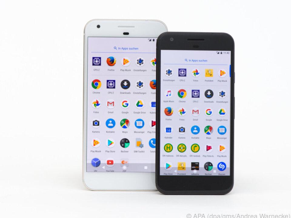 Die beiden Versionen des Pixel gibt es ab dem 20. Oktober im Handel