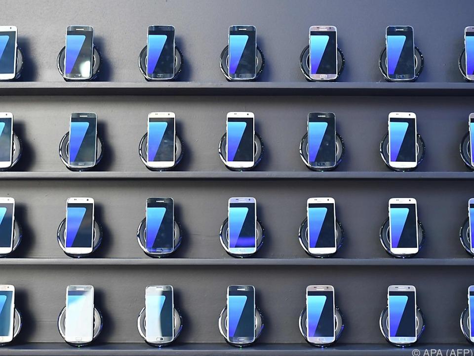 Die Galaxy Note 7 können gegen andere Geräte eingetauscht werden