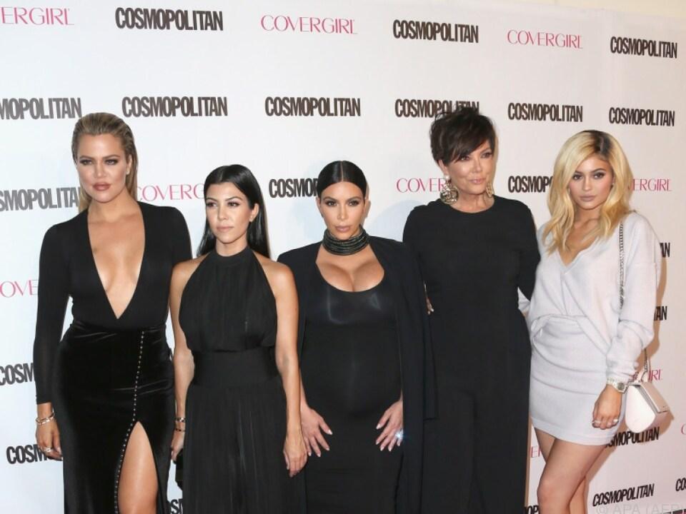 Die Kardashians halten zusammen