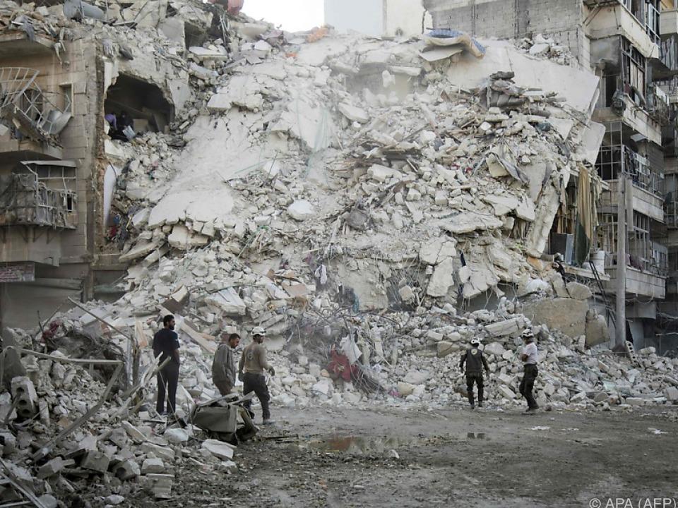 Die Lage in Aleppo ist verheerend
