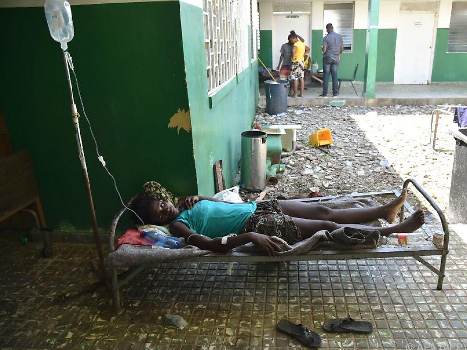 Die Lage in Haiti nach der Wirbelsturm-Katastrophe ist verheerend