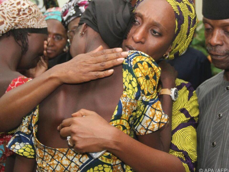 Die Mädchen wurden nach 2,5-jähriger Gefangenschaft freigelassen