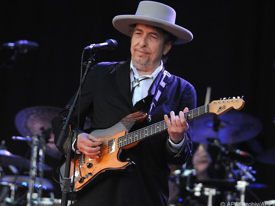 Dylan wird für seine poetischen Neuschöpfungen ausgezeichnet