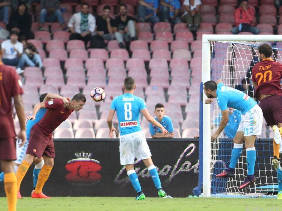 Edin Dzeko in Topform brachte wieder drei Punkte nach Rom