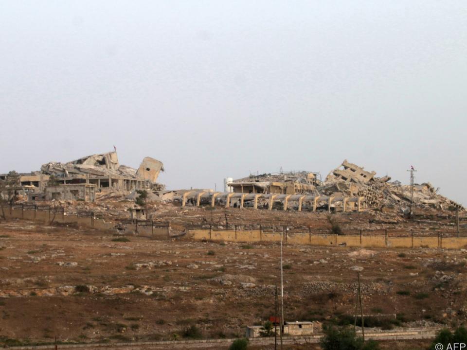 Ein Krankenhaus in der syrischen Stadt Aleppo