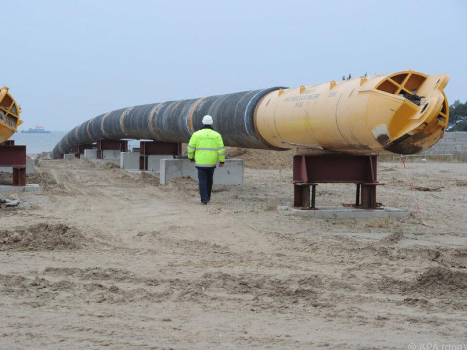 Eine Pipeline entsteht