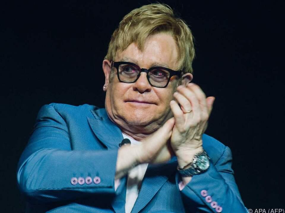 Elton Johns Leben - eine Achterbahn
