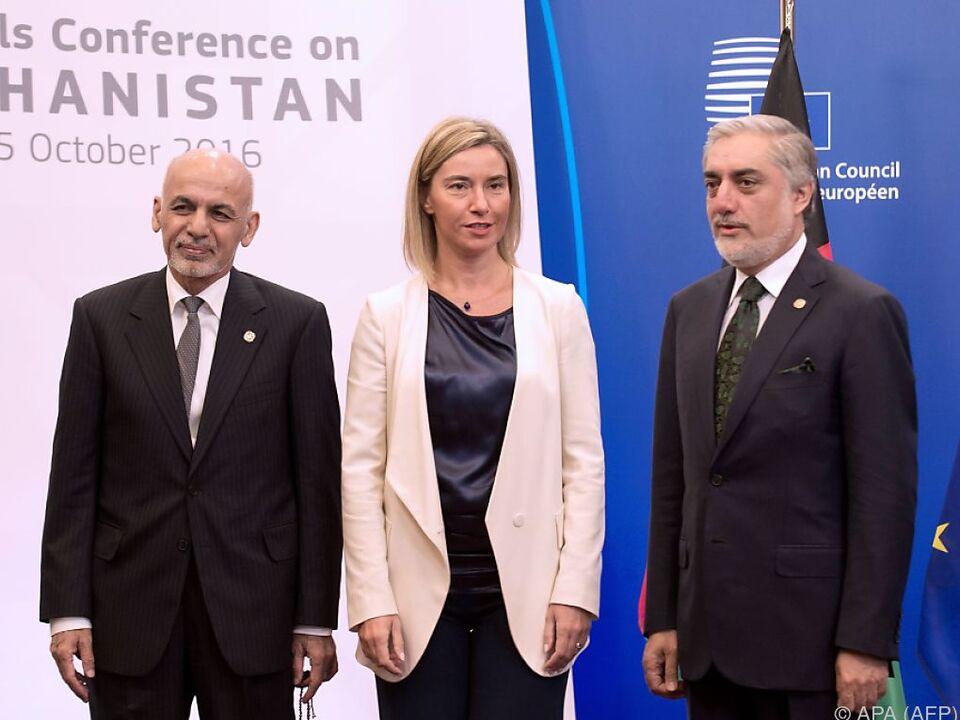 EU-Finanzzusagen sollen Lage in Afghanistan verbessern