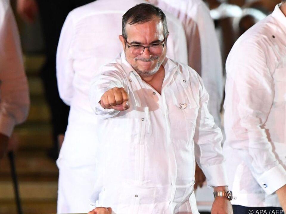 FARC-Rebellenführer Londono optimistisch hinsichtlich Frieden