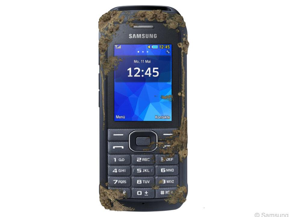 Featurephone mit Schmutz-und Wasserschutz: Das Samsung Xcover 550