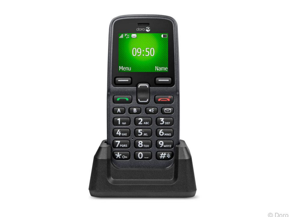 Das Doro 5030 richtet sich als klassisches Handy an Ältere