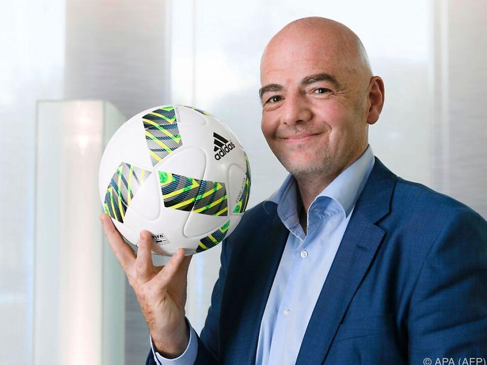FIFA-Präsident Gianni Infantino hat viele Pläne