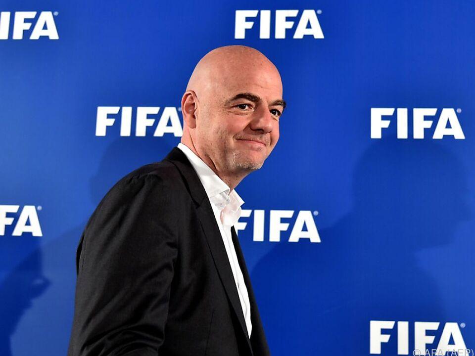 FIFA-Präsident Infantino will WM-Teilnehmerfeld vergrößern