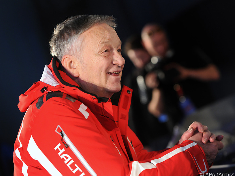 FIS-Präsident Gian Franco Kasper ist zufrieden