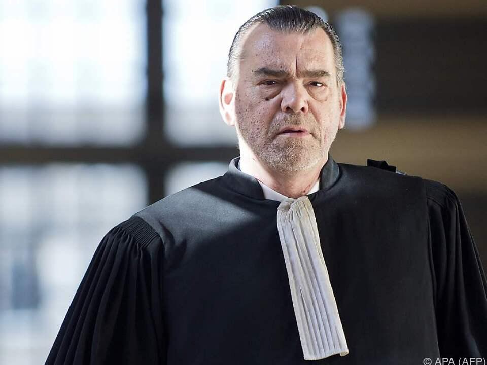 Frank Berton glaubt nicht, dass sich der Angeklagte äußern wird