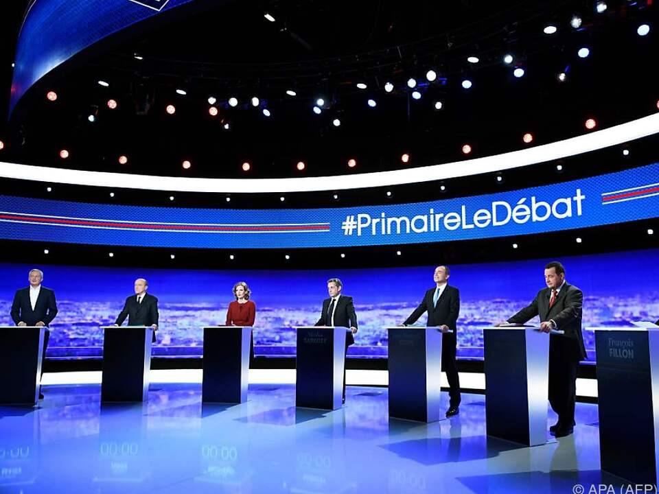 Frankreichs Konservative suchen Kandidaten für Präsidentschaftswahl