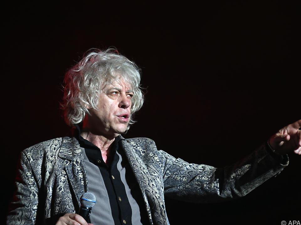 Geldof kämpft für eine bessere Welt