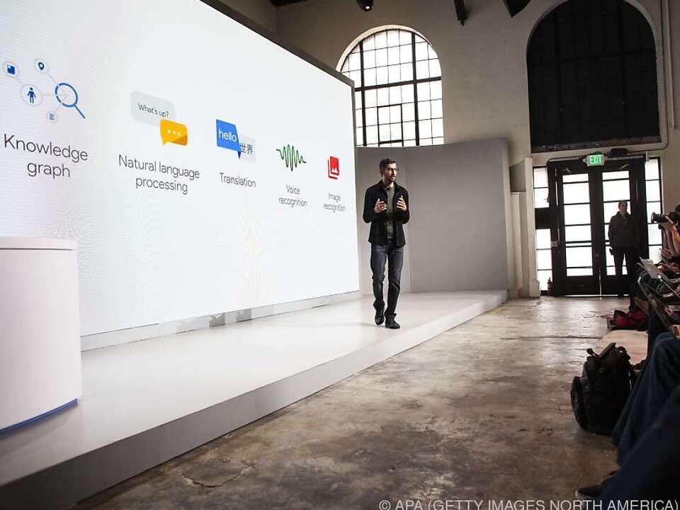 Google will damit dem iPhone Konkurrenz machen