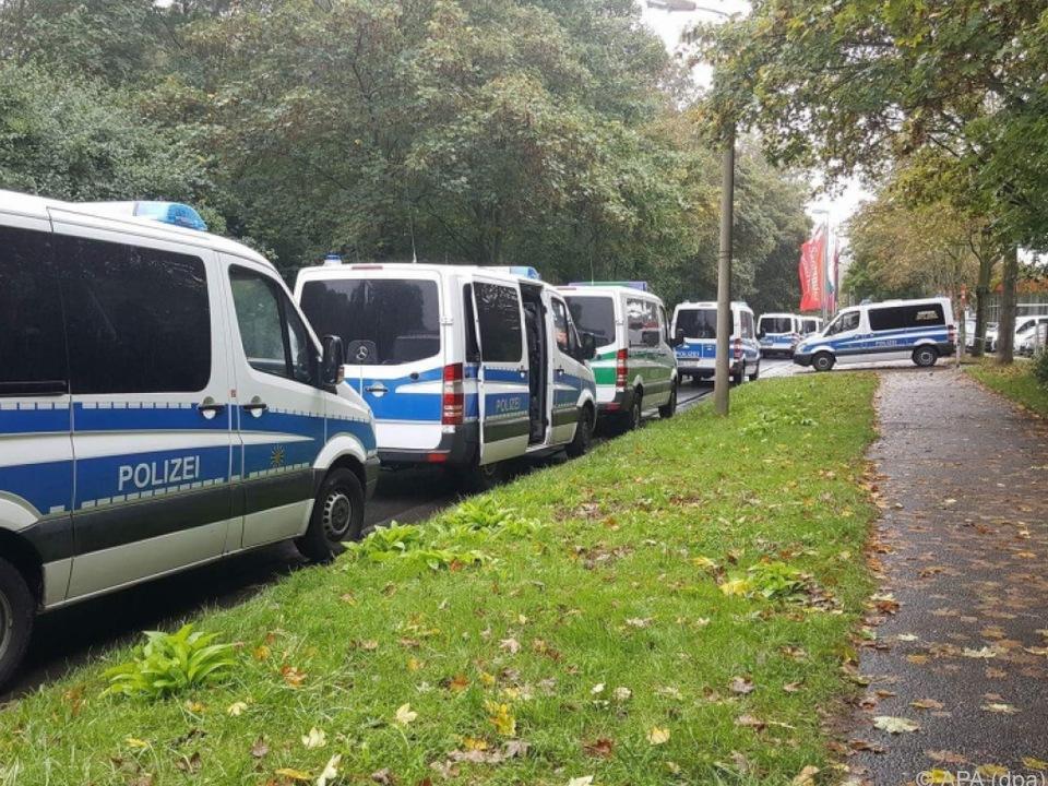 Großeinsatz der Polizei in Chemnitz
