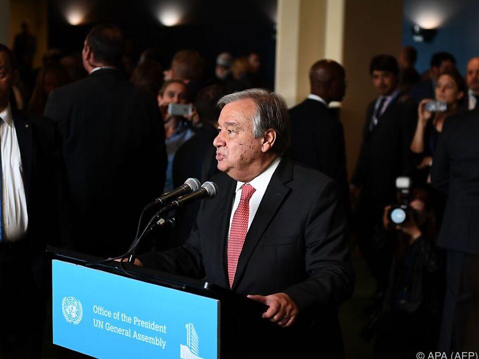 Guterres folgt Ban Ki-moon im Jänner als UN-Generalsekretär