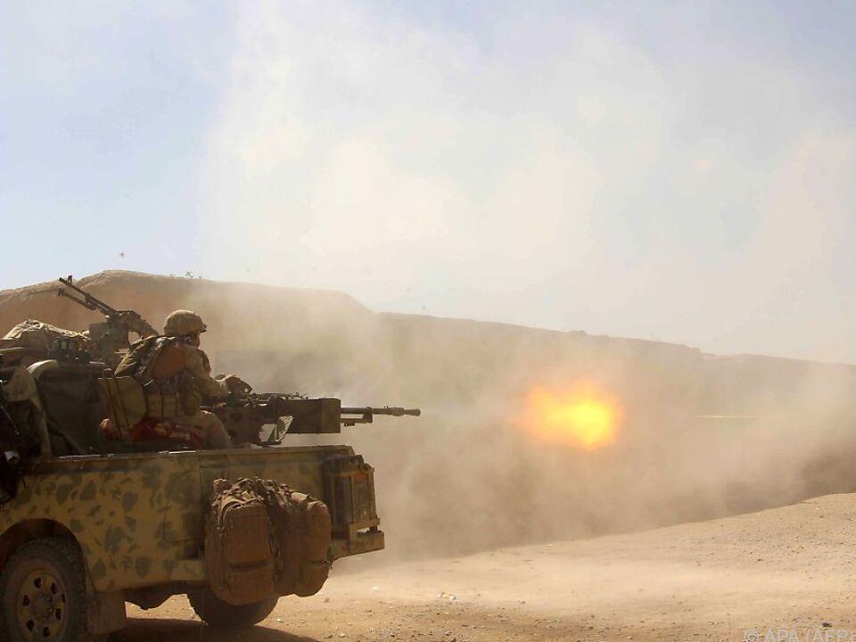In Helmand werden die militärischen Operationen verstärkt