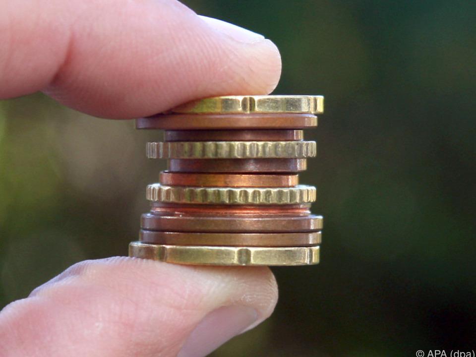 geld In Summe geht es um mehr als ein paar Cent