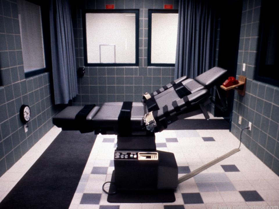 In USA werden Giftspritzen für Todesstrafe verwendet
