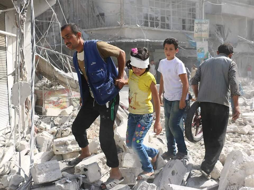 Kein Ende der Gewalt in Aleppo
