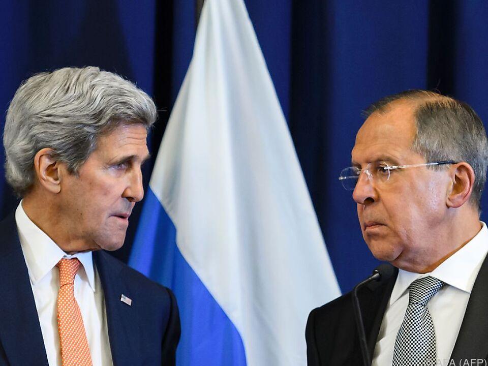 Kerry und Lawrow wollen wieder miteinander reden