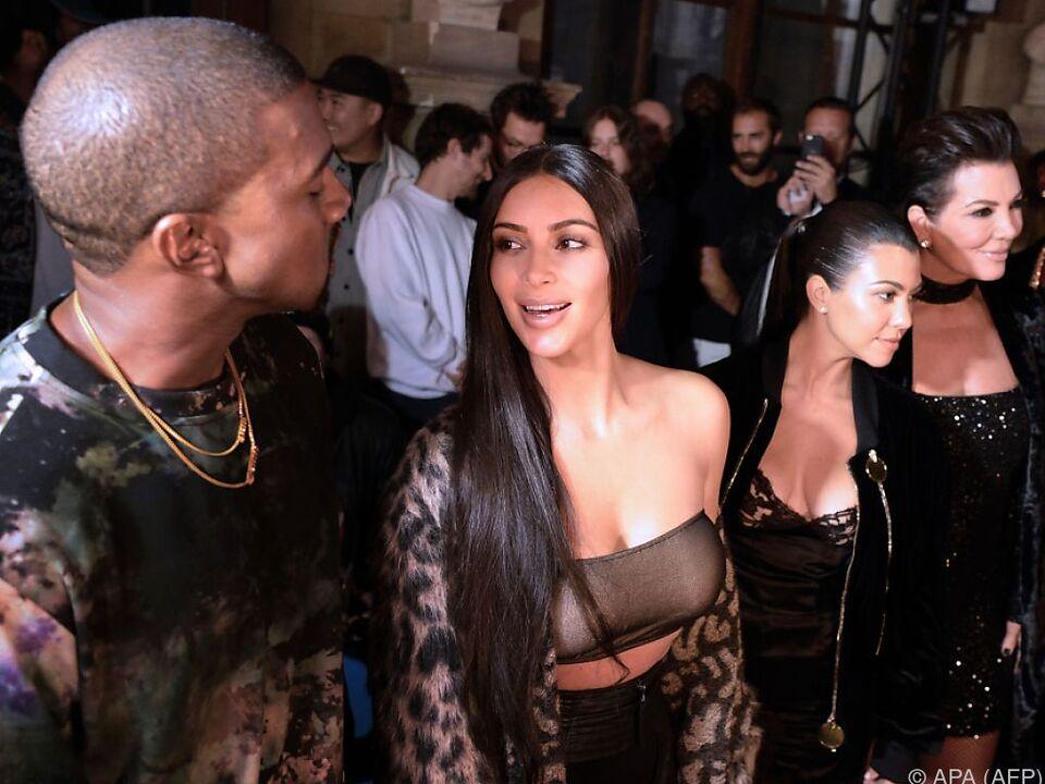 Kim Kardashian flüchtete heim nach New York