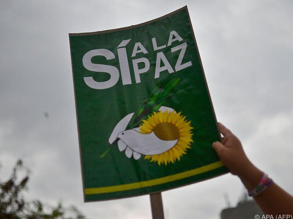 Kolumbianer stimmen über Friedensschluss ab