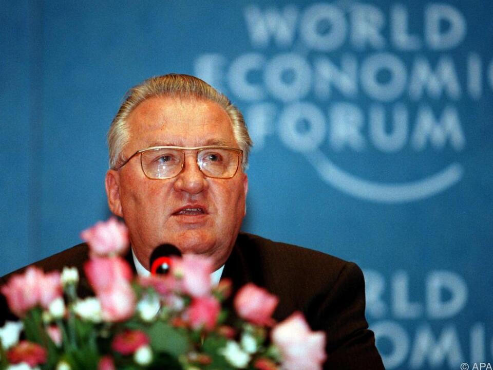 Kovac von 1993 bis 1998 erstes Staatsoberhaupt der Slowakischen Republik