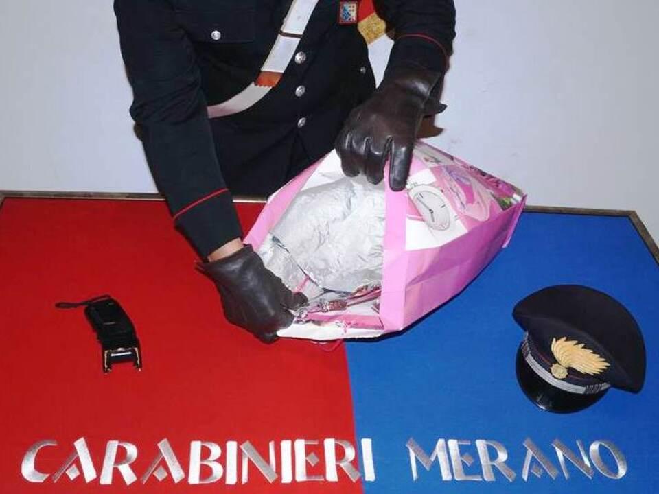 Carabinieri Meran Tasche abschirmung