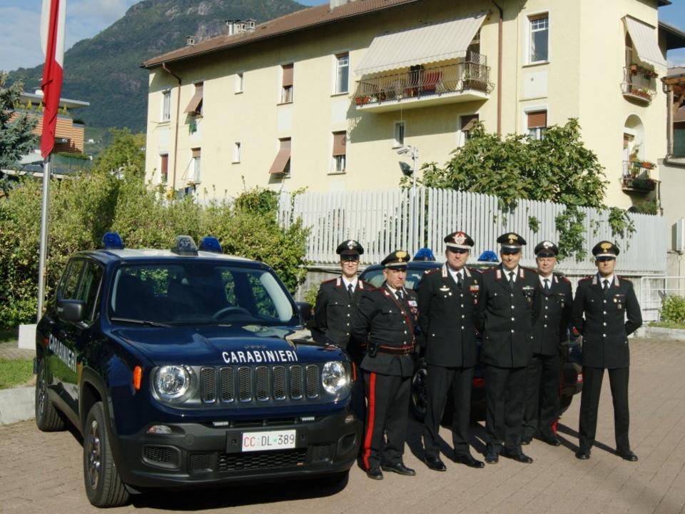 Carabinieri Partschins Jeep Renegade