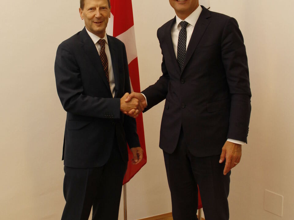 Kompatscher Schweizer Botschafter Kessler