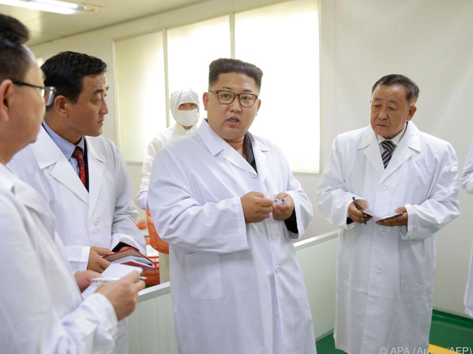 Machthaber Kim Jong-un greift wie immer hart schuld