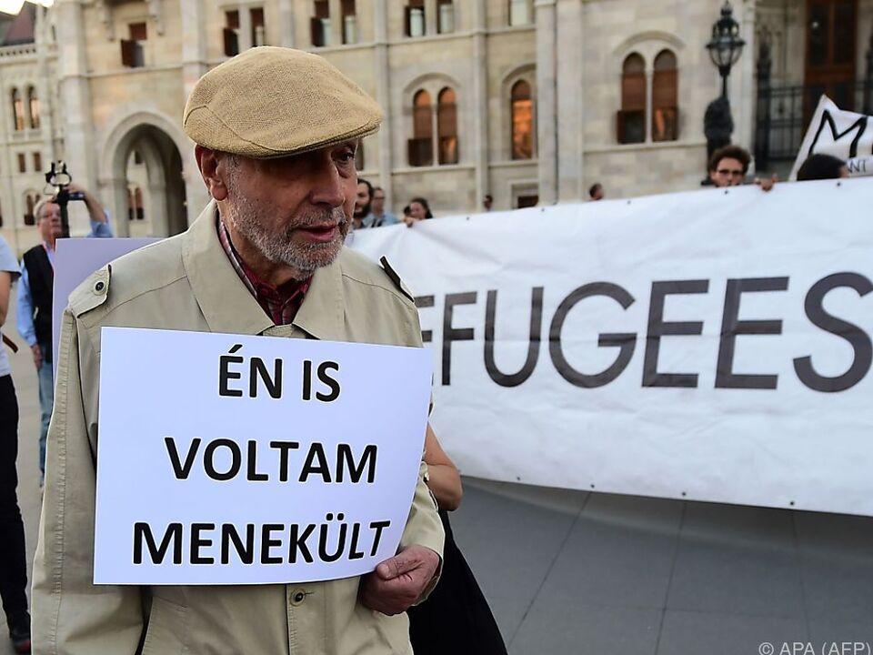 Manche Stimmen aus der Bevölkerung widersprechen Orbans Sichtweise