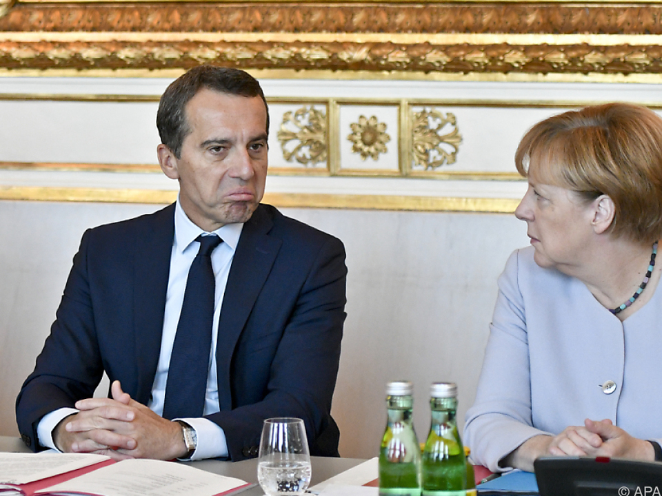 Merkels Sager aus dem Vorjahr ist für Kern nicht mehr aktuell