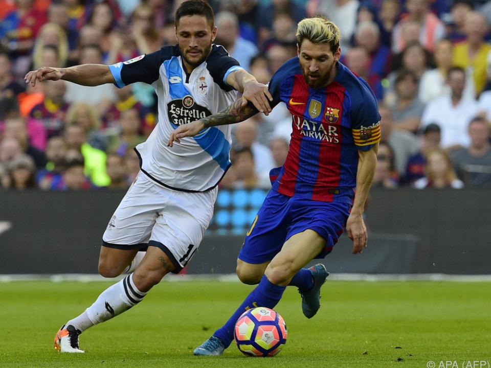 Messi traf kurz nach Einwechslung