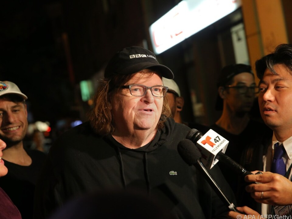 Michael Moore selbst war bei der Premiere anwesend