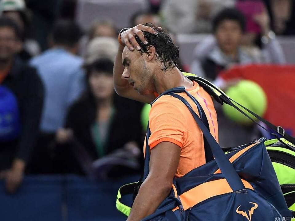 Nadal zittert um die Teilnahme bei den ATP-Finals