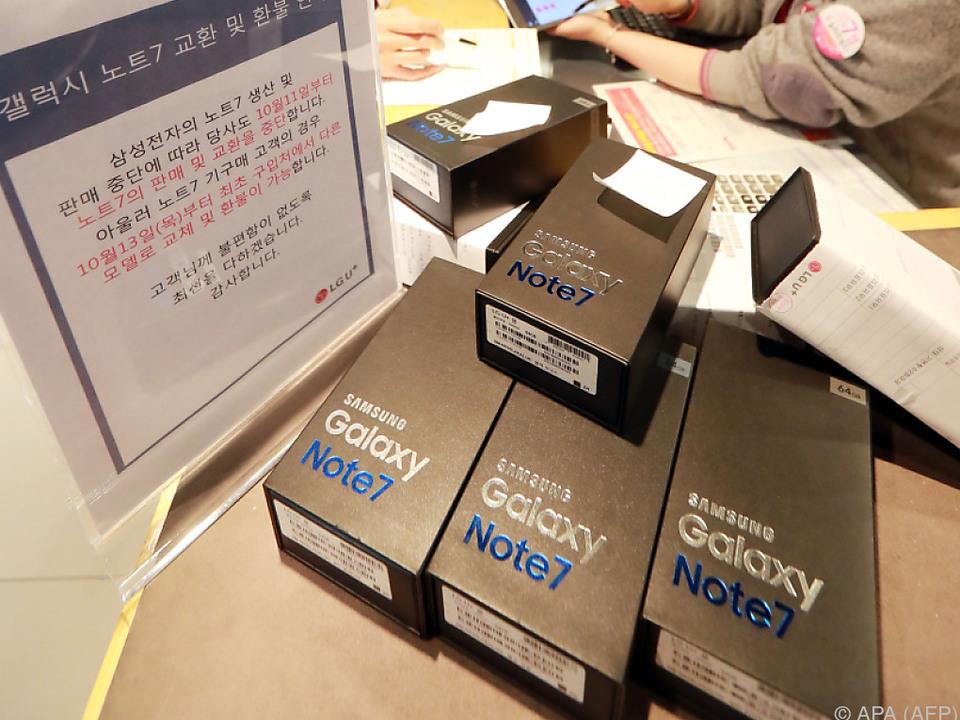 Note 7 wird zum Desaster für Samsung