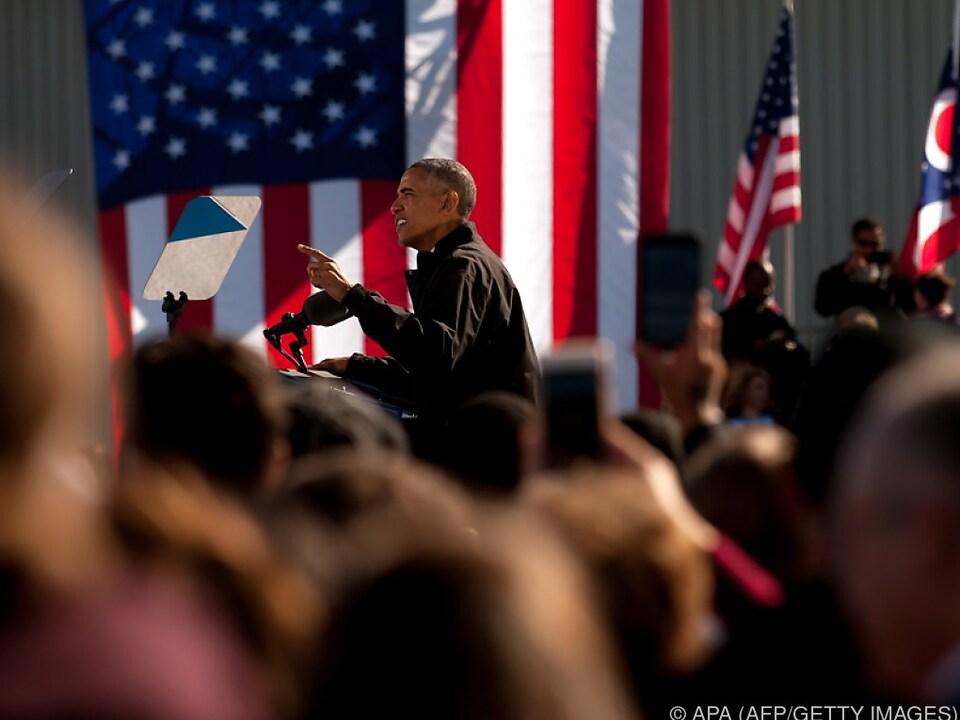 Obama-Rede zur Unterstützung für Hillary Clinton