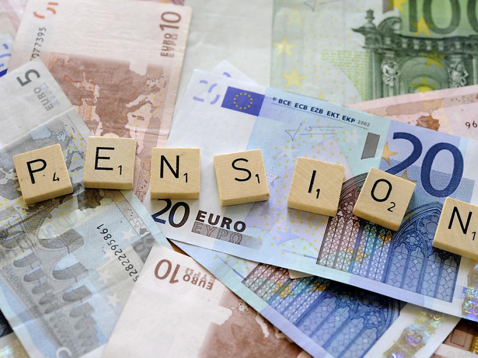 Österreich investiert vor allem in den Pensionsbereich