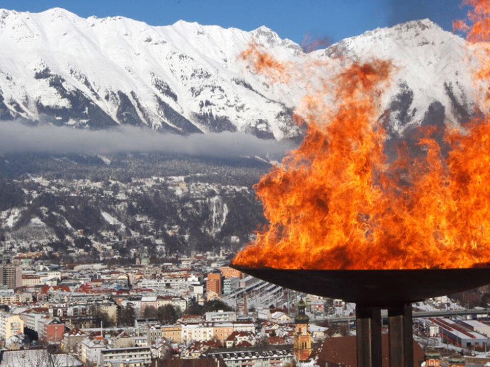 Olympisches-Feuer-Innsbruck