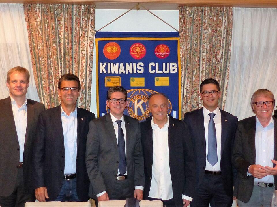 Kiwanis Club Bruneck Vorstand