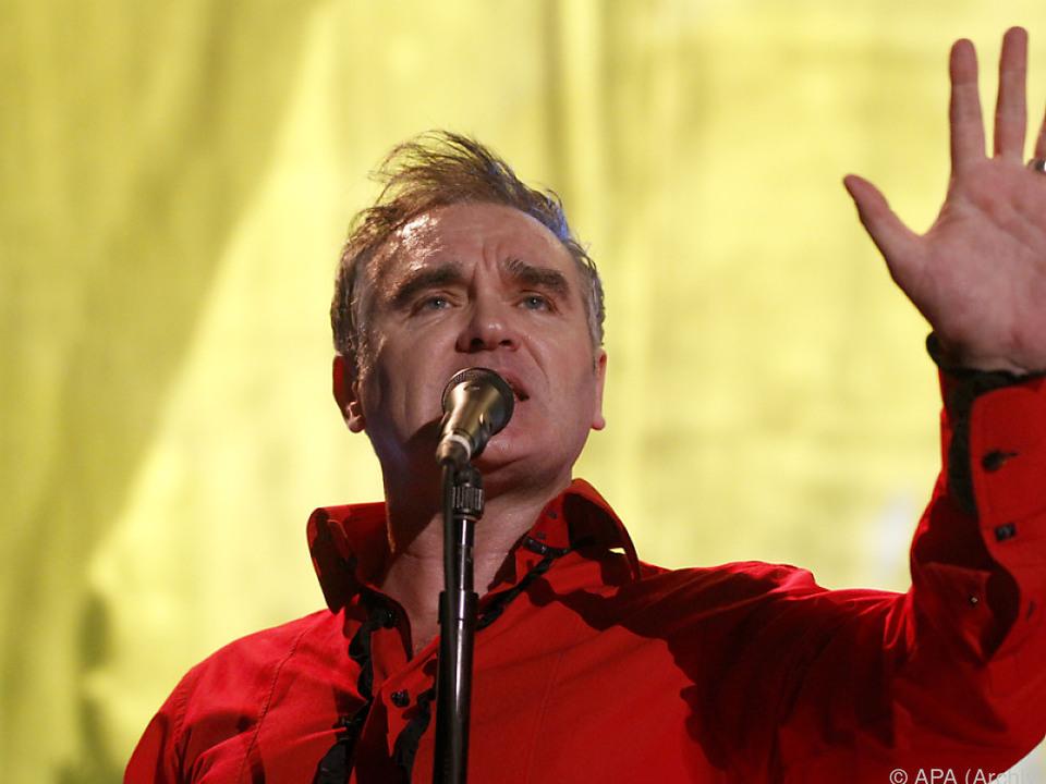 Patrick Morrissey lässt Fleischprodukte bei seinen Konzerten verbieten