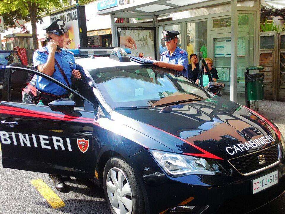 Streife Carabinieri Bozen