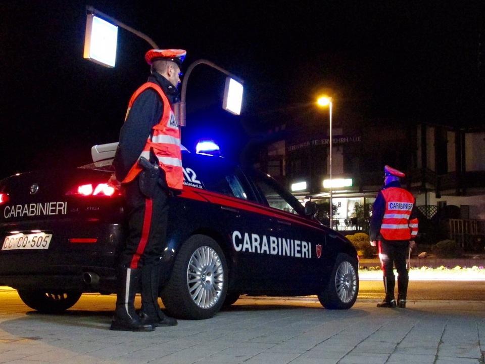 Carabinieri Bruneck Nacht