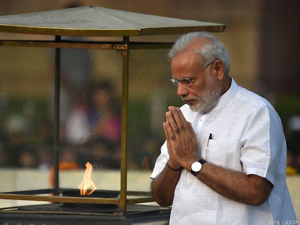Premier Modi will Klimavertrag unterzeichnen